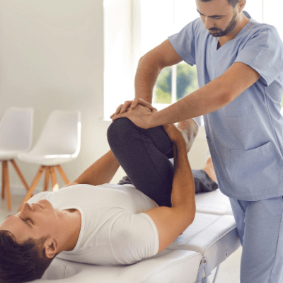 Physiotherapist at home